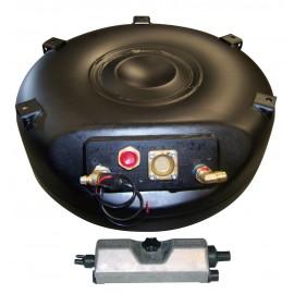 Deposito GLP Toroidal 45L 600 x 200 Tanque GLP con 4 agujeros / valvulas