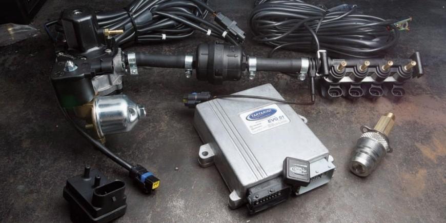 Redutores LPG - injetores de LPG - ECU Centralitas - Tanques de GLP - Válvulas